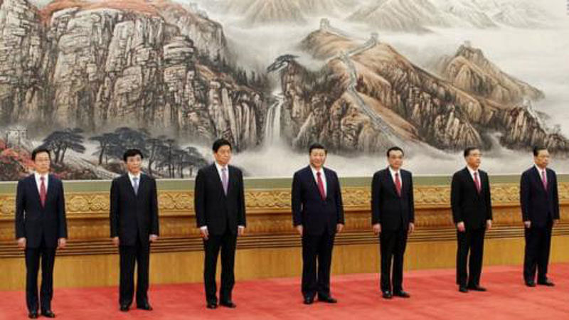 Xi gets his young teammates, no clear hint of heir apparent