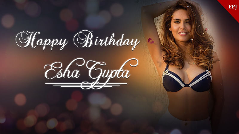 Happy Birthday Esha Gupta: 20 times she broke the internet with her hot and sizzling pictures