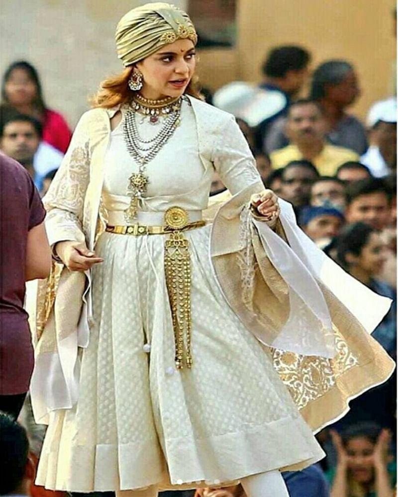 From the sets: Kangana Ranaut's look as Rani Lakshmibai in 'Manikarnika' is a treat to watch
