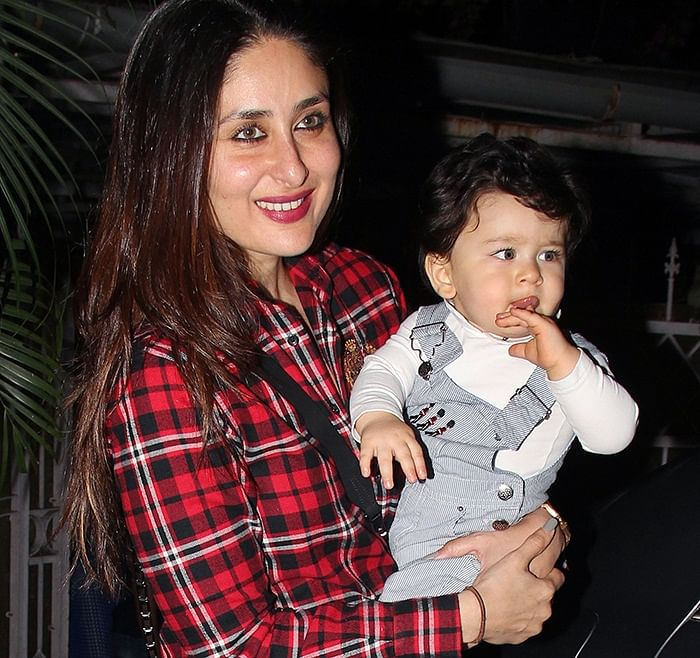 In Pictures: Kareena's son Taimur Ali Khan's latest pic is a treat for his fans