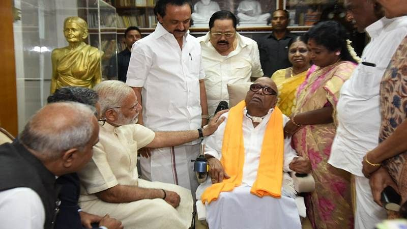 Karunanidhi Passes Away: Twitterati pay their last respect to DMK chief