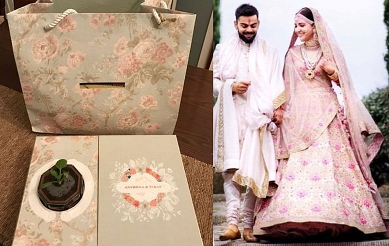 Virushka wedding reception: Anushka Sharma and Virat Kohli go green for; check out invitation theme