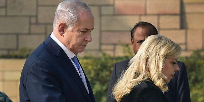 Israeli Prime Minister Benjamin Netanyahu visits Taj Mahal