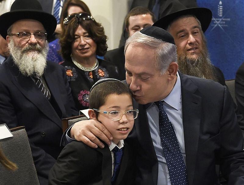 Mumbai: 26/11 terror attack survivor Baby Moshe, Israel PM Benjamin Netanyahu visit Chabad House