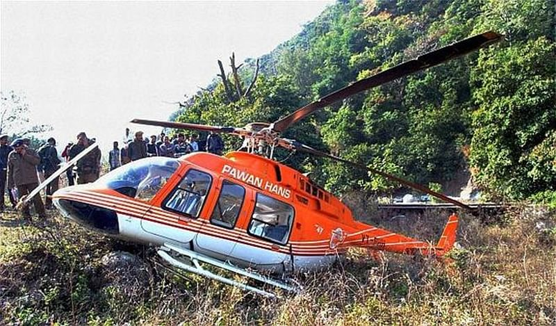 ONGC's Pawan Hans chopper crash: 7th body found, police lodges accident case
