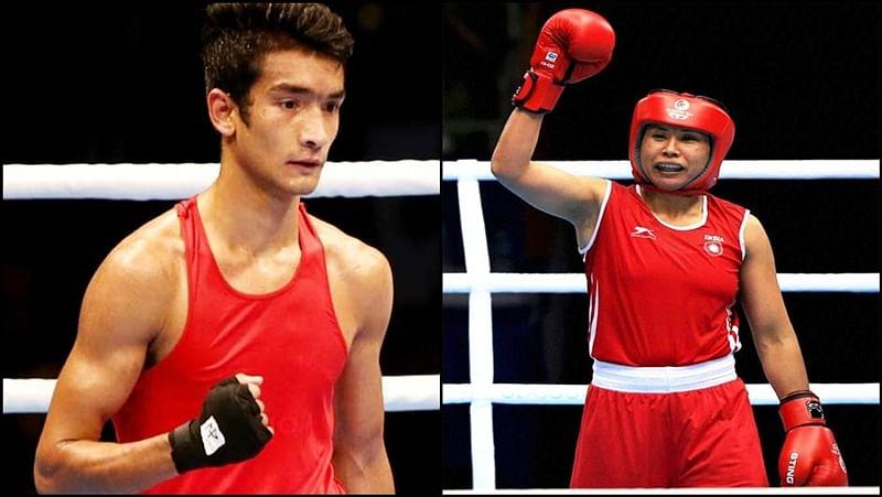 Indian boxers Shiva, Sarita enter semis of India open