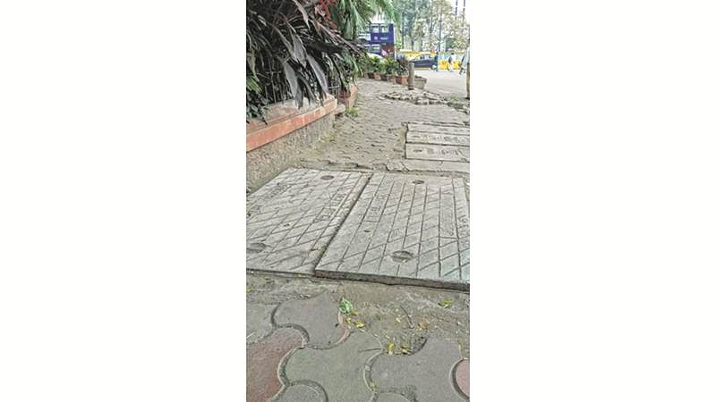 BMC vows speedy resolution of complaints on bad footpaths in Fort, Colaba, Cuffe Parade