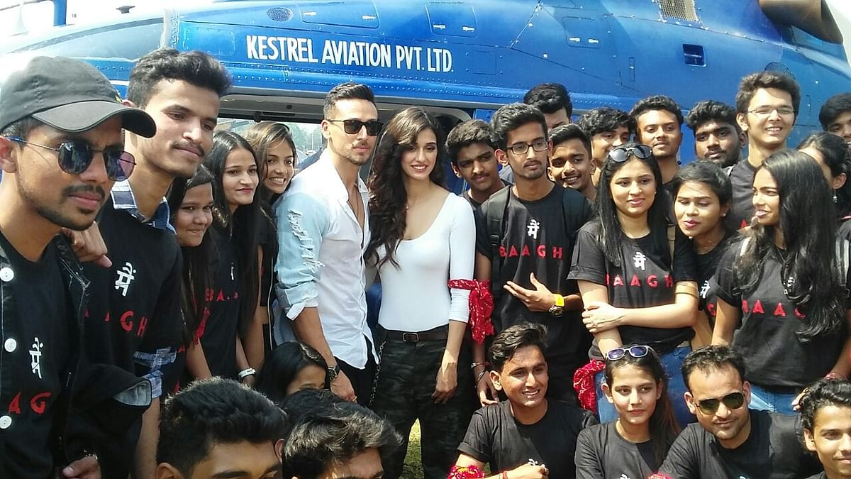 In pictures: Baaghi 2 makers launch the sequel with double the Grandeur