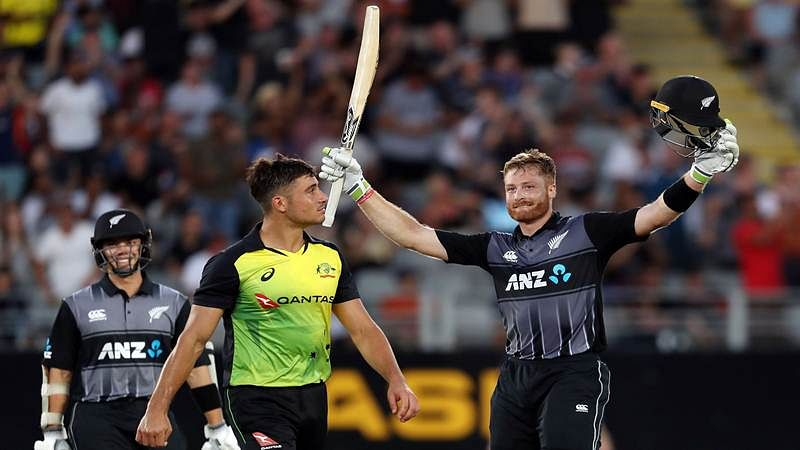 Australia vs New Zealand T20I: Martin Guptill's hundred takes Black Caps to 243/6