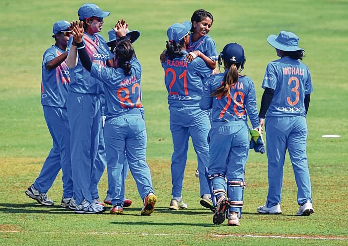 Women's camp for World T20 at CCI