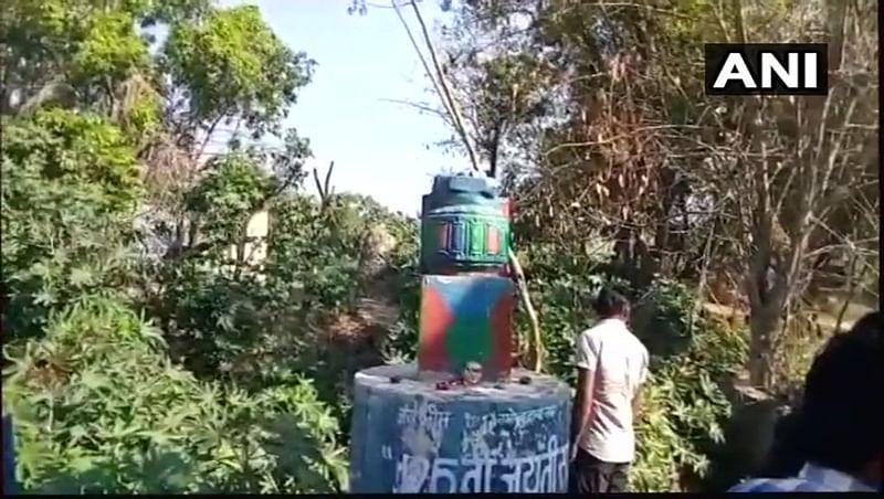 Statue row: B R Ambedkar statue defaced in Chennai