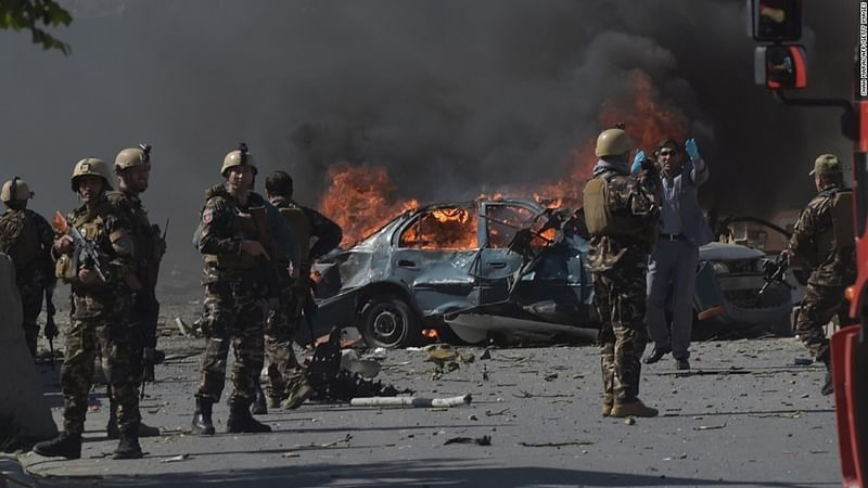 25 killed, 18 injured in Kabul suicide bombing
