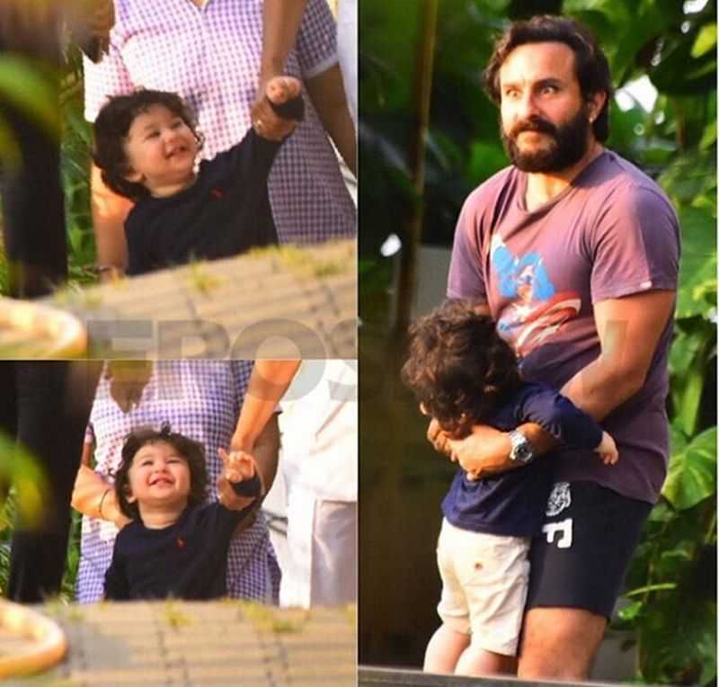 In Pictures: Taimur and Dad Saif Ali Khan's goofy yet lovely bond