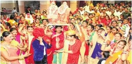 Indore: Dasha Mata poojan' reminds women about their strength and power