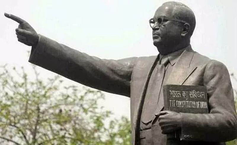 Uttar Pradesh: Ambedkar statue vandalised in Muzaffarnagar by unidentified miscreants