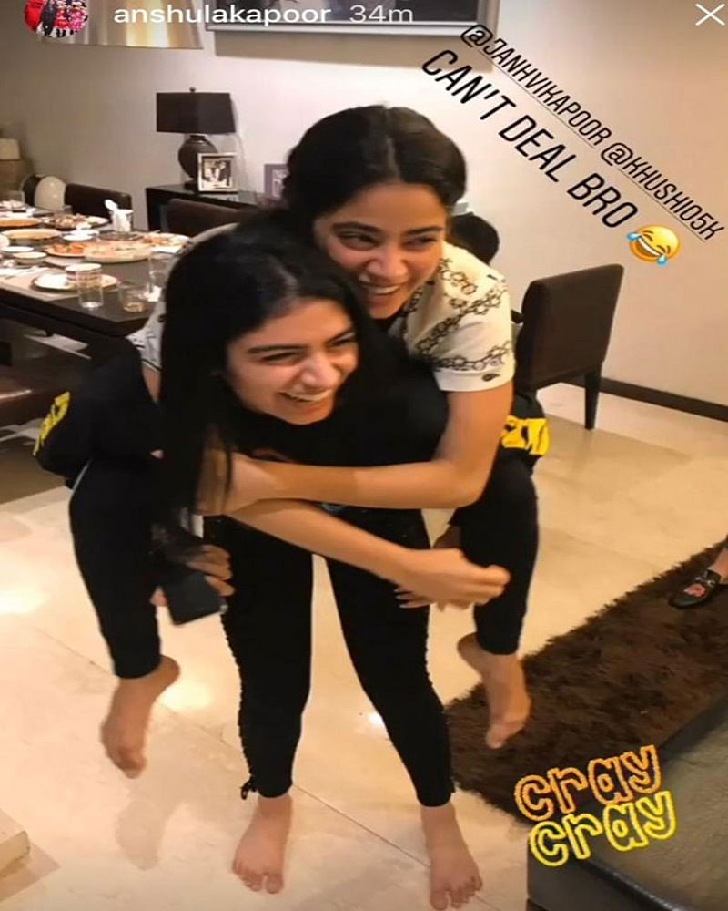Sister goals! Janhvi Kapoor can't deal with all the LOVE from Khushi, Anshula Kapoor shares pic