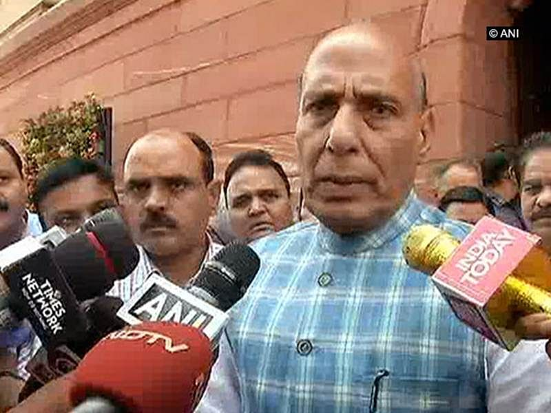 Monsoon Session: Rajnath Singh passes mob lynching buck on to states; Opposition walks out
