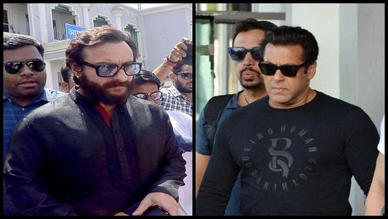 Post Blackbuck poaching case verdict, Bollywood stars gather at Salman Khan and Saif Ali Khan's house
