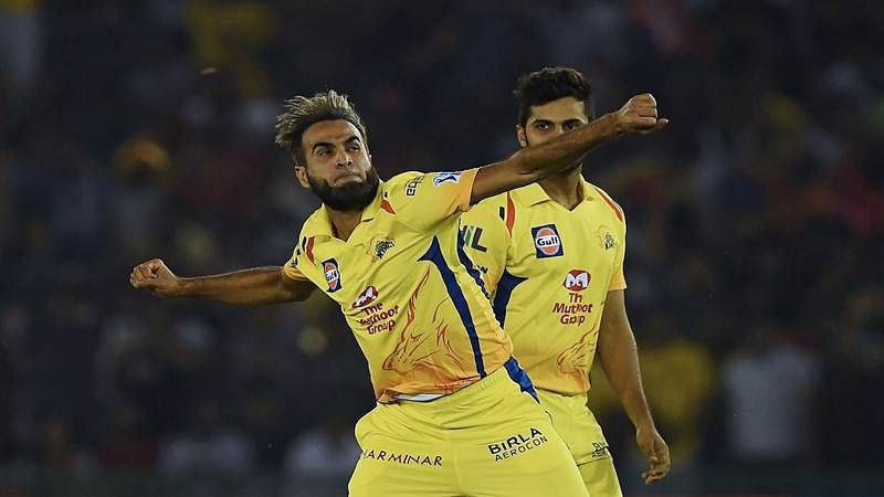 Imran Tahir's energetic four-wicket haul helps Chennai Super Kings put foot in playoffs