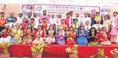 Ujjain: International youth camp focuses on non-violence, patriotism