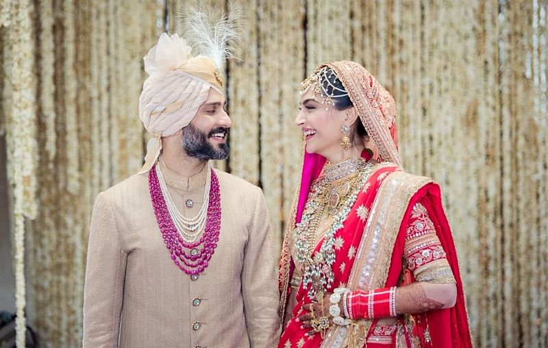Sonam Kapoor and Anand Ahuja share thank you post for making their wedding 'special'