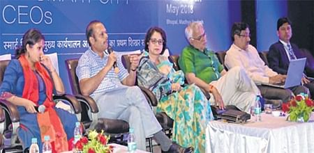 Bhopal: Citizens will also become smart with the extension of smart facilities says Maya Singh