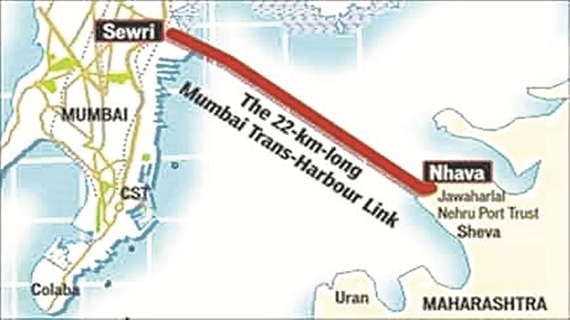 Mumbai: MMRDA begins work on 22 km-long MTHL bridge