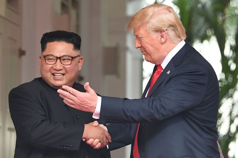 Donald Trump shares video for Kim Jong Un, portraying two leaders as heroes tied to each other by destiny