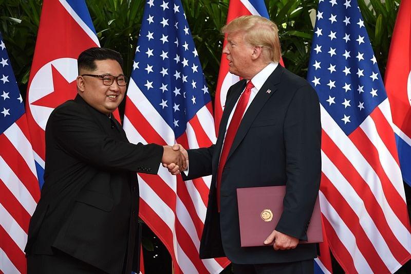 Kim Jong Un-Donald Trump historic summit ends with pledge to forge new era