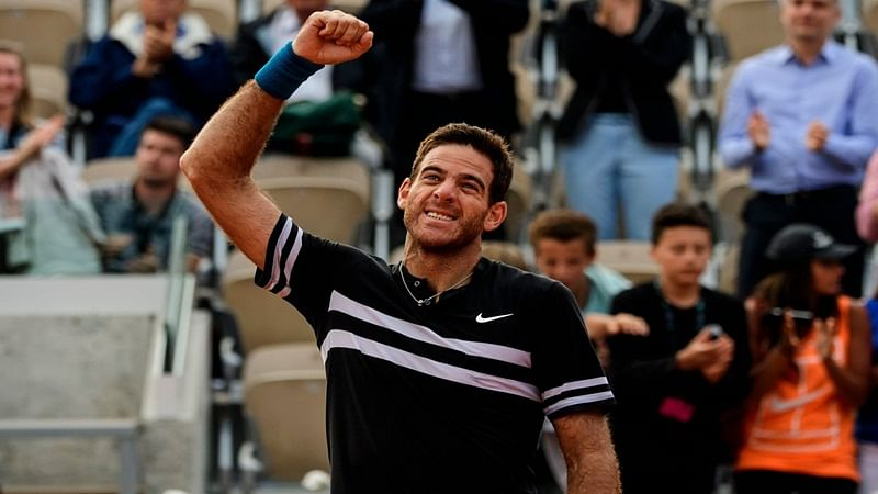 French Open: Juan Martin Del Potro sets up semi-final clash with Rafael Nadal