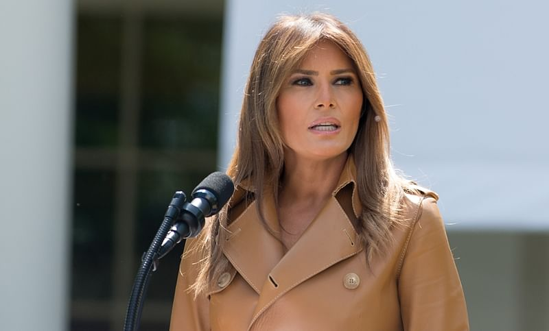 British media outlet says sorry to Melania Trump