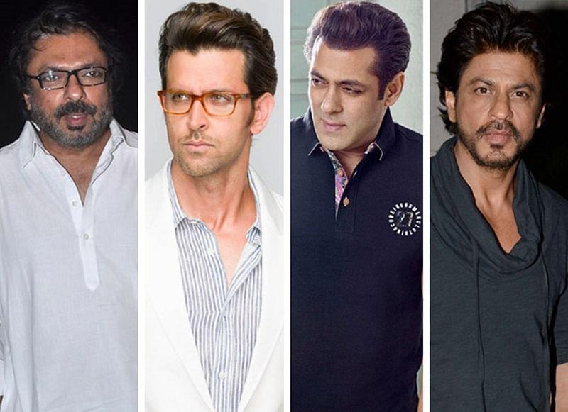 Sanjay Leela Bhansali has no films for Hrithik Roshan, Salman Khan or Shah Rukh Khan