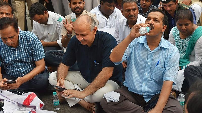 Delhi CM Arvind Kejriwal calls off nine day sit-in