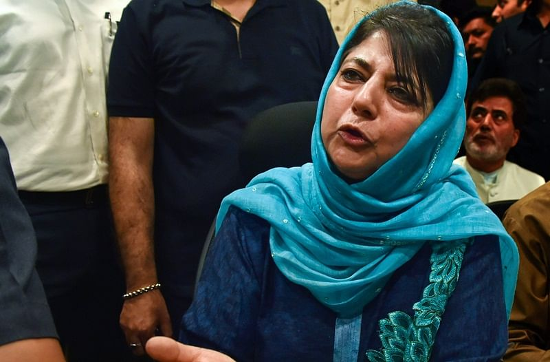 Resignations of BJP MLAs not handed over to Mehbooba Mufti