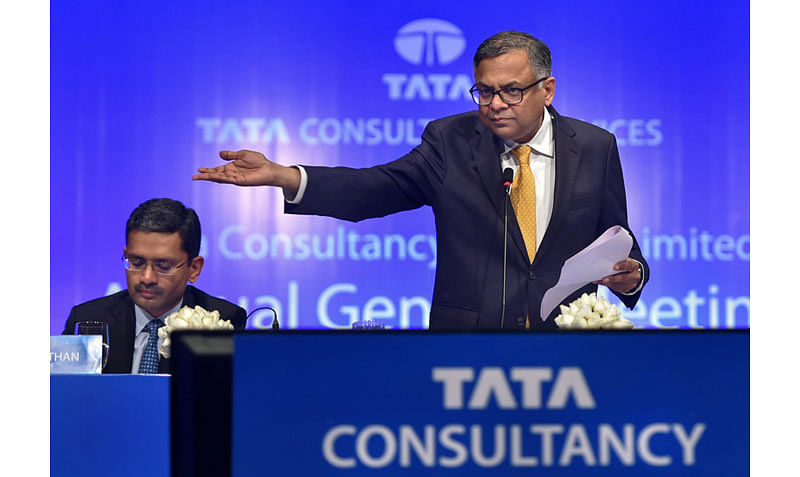 TCS shares jump nearly 5% after Q4 results
