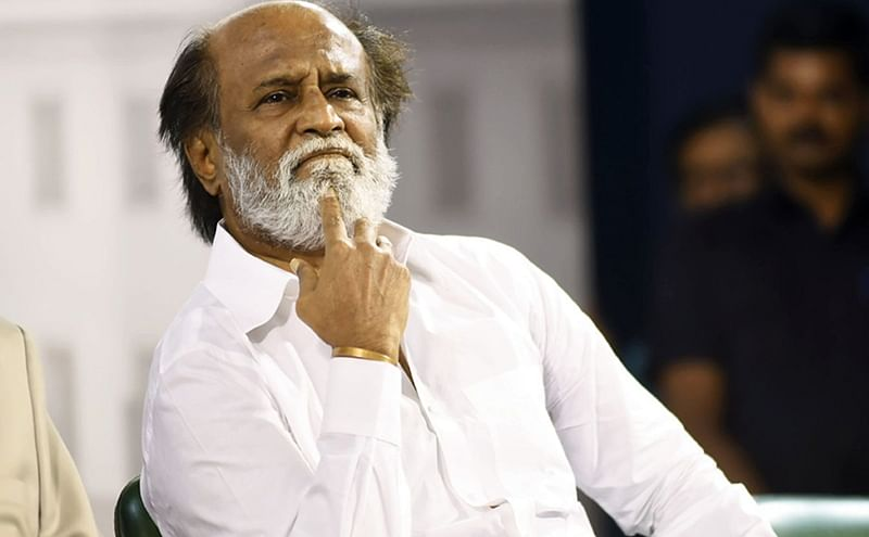 '2.0' actor Rajinikanth lashes out at AIADMK for protests against Vijay-starrer 'Sarkar'