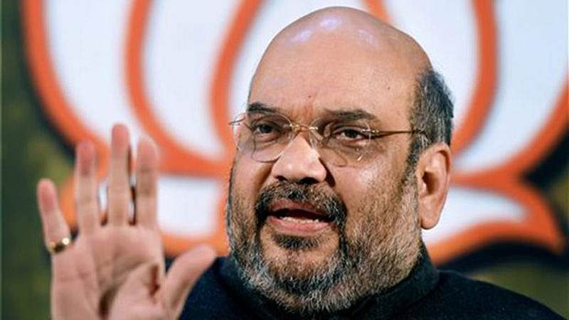 Amit Shah hits back at Rahul Gandhi, says Congress' way of treating Dalits is patronising