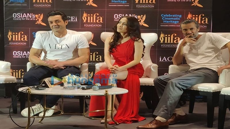 IIFA Awards 2018: Bobby Deol, Urvashi Rautela to preserve cinema heritage through Osian's new vision