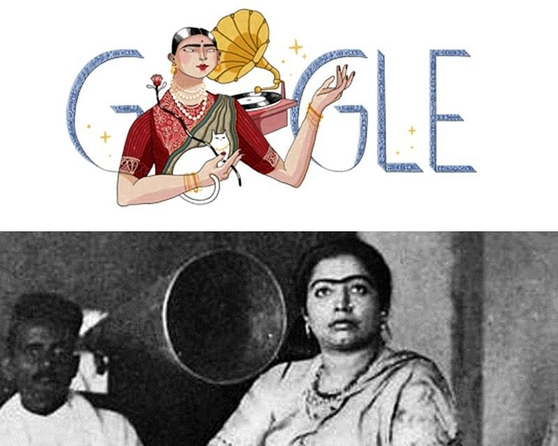 Google celebrates India's 1st recording artist Gauhar Jaan's 145th birth anniversary