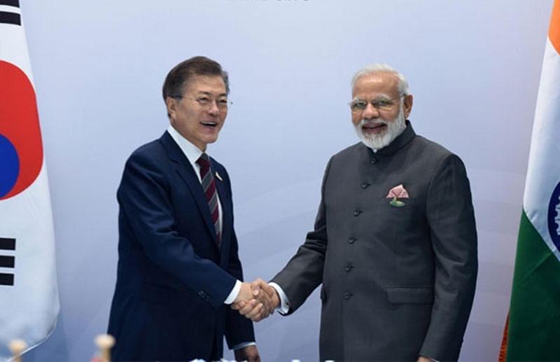 PM Narendra Modi, South Korean President Moon Jae-in exchange greetings on International Yoga Day