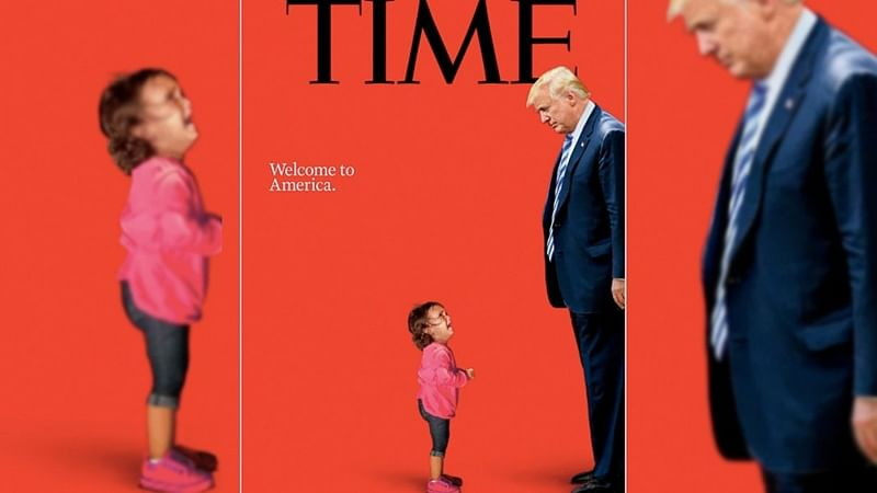 Time Magazine cover: The crying girl on the cover was not separated from her mother