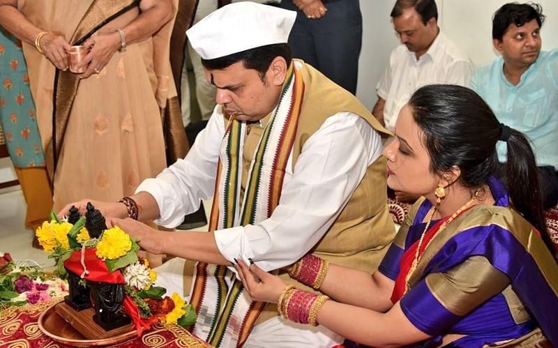 Mumbai: Amid protest threats by Marathas, CM Devendra Fadnavis skips puja in Pandharpur, performs ritual at home