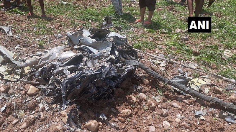 Pilot killed after MiG-21 fighter jet crashes in Kangra district of Himachal Pradesh