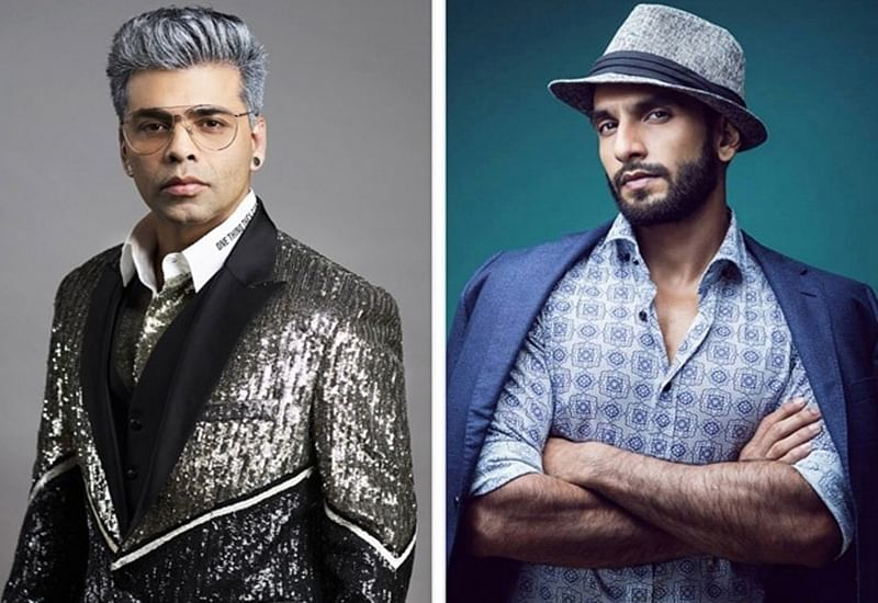 Ranveer Singh is willing to become Karan Johar's ras malai on the sets of 'Takht'; watch video