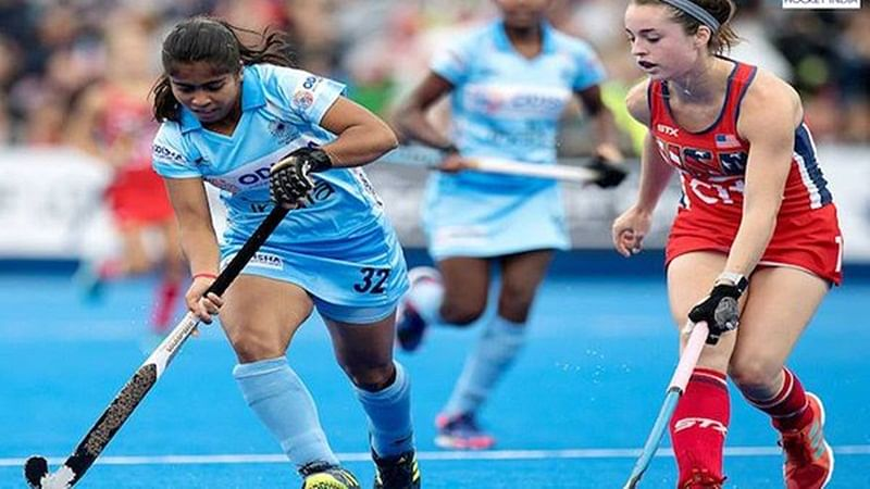 Women's Hockey World Cup: India hold US 1-1 in 3rd match, qualify for quarters playoffs