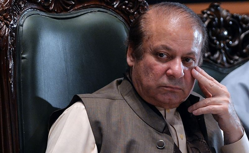 Nawaz Sharif walks out of prison after 3 months on medical grounds