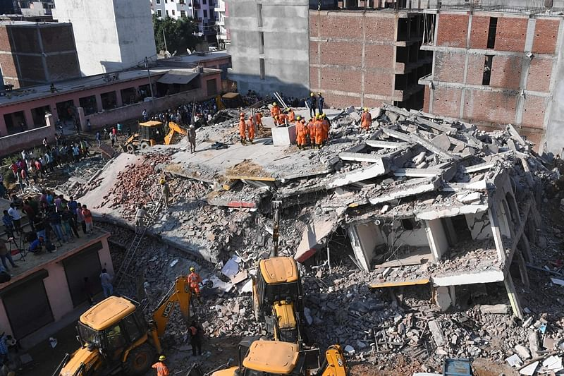 UP: Two under-construction buildings collapse in Greater Noida; 3 killed, many feared trapped