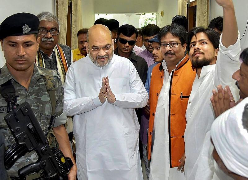 Amit Shah likely to meet Lata Mangeshkar for'Sampark Se Samarthan Tak' campaign
