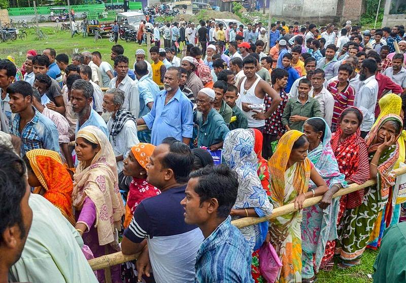 Mass deportation fear grips Muslims in Assam after release of draft NCR list