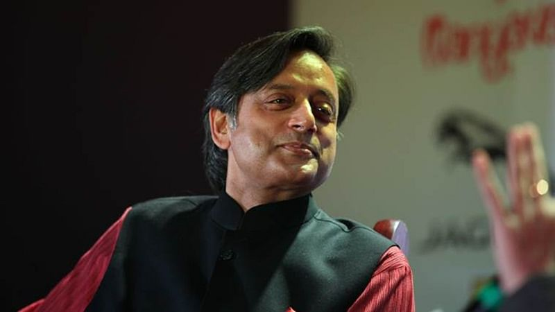 Congress party leader Shashi Tharoor